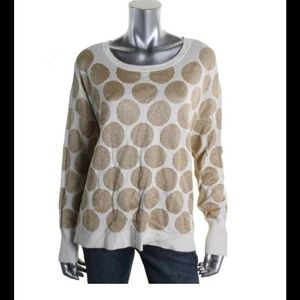 Ellen Tracy Tops - Ellen Tracy Gold Ribbed Pull Over Sweater