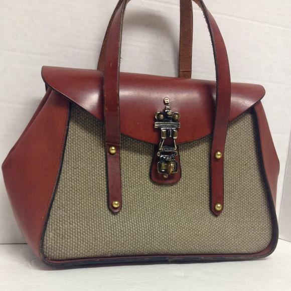 Etienne Aigner Handbags - Etienne Aigner Vintage Handmade Purse 6c926a0c39c1f