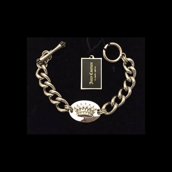 Crown Charm Bracelet: 24% Off Juicy Couture Jewelry