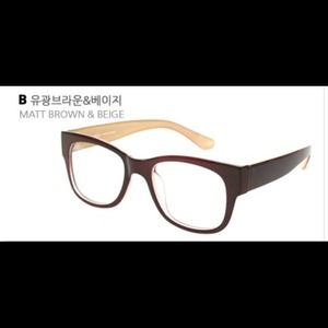 50% off Eyelucy Other - NWT Glasses Frames Brown Large ...