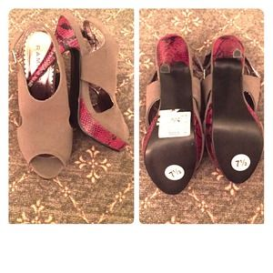Pretty Rampage Shoes!! NWT