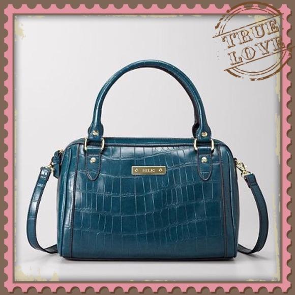67% off Relic Handbags - 🌀Peacock Blue Handbag from Julie's ...