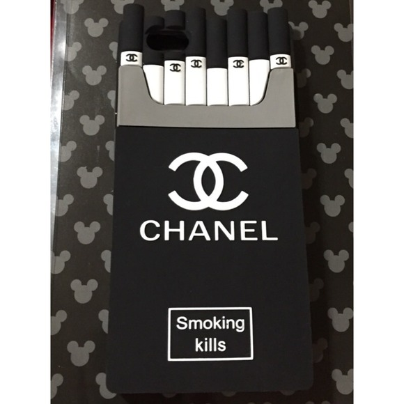 Chanel Iphone 6 Case Smoking Kills Smoking Kills Iphone 6 Case