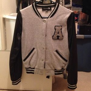 Forever 21 letterman jacket ✨