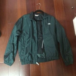 Nike Forest Green Wind Breaker