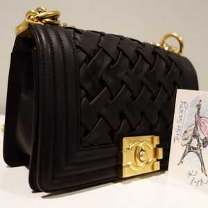 sold Chanel Le Boy Small  Versailles Chateau