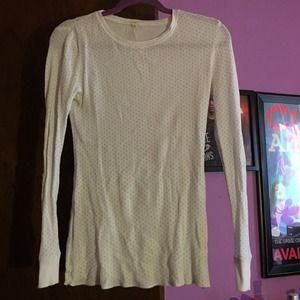J.Crew Factory Thermal Long Sleeve Shirt