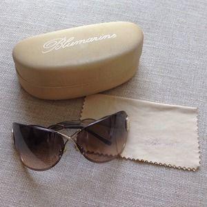 Blumarine Accessories - Blumarine sexy unique sunglasses