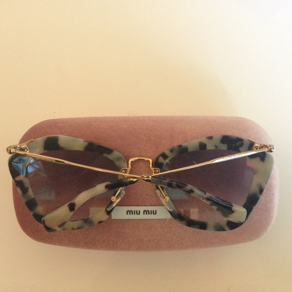 a5be60fb5495 10% off Miu Miu Accessories - MIU MIU CAT EYE SUNGLASSES BRAND NEW from  Noelle