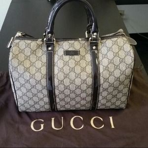  Authentic Gucci Boston Bag