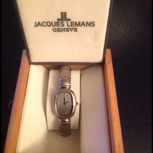 Jacques Lemans Accessories - Jacques Lemans: Stainless Steal Bangle Watch