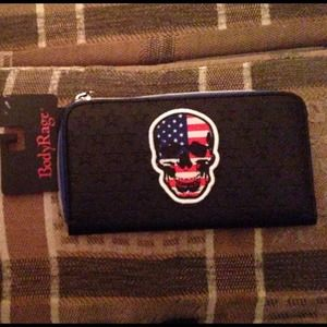 Body Rage skull wallet 2 of 3