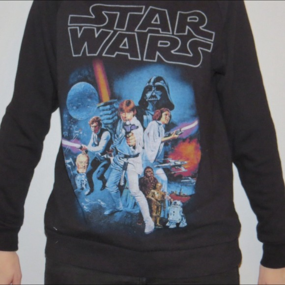 55% off Forever 21 Tops - Forever 21 Star Wars crewneck from ...