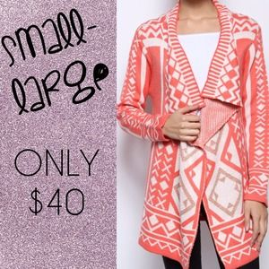 Outerwear - Precious pink cardigan