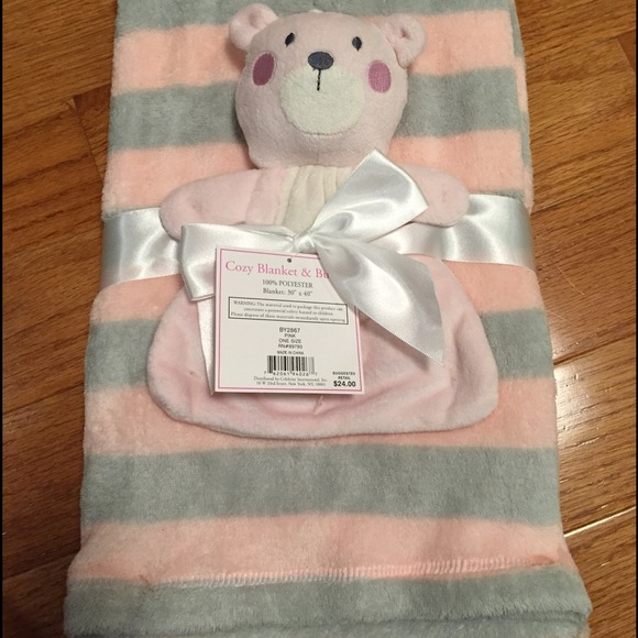 58 Off Lovespun Other Cozy Baby Blanket And Buddy From
