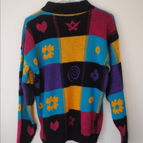Sweaters - LOUD FUNKY SWEATER