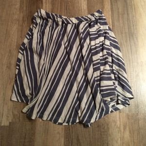 Urban Outfitters Dresses & Skirts - HP 🎉 Urban Outfitters blue & white stripe skirt