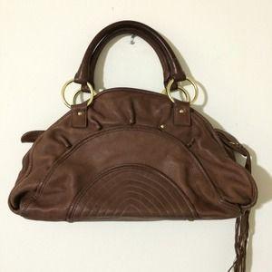 Genuine leather Bulga bag.
