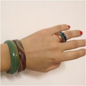 Accessories - Asian set: 2 bangles & 3 rings (4 @maureen888)