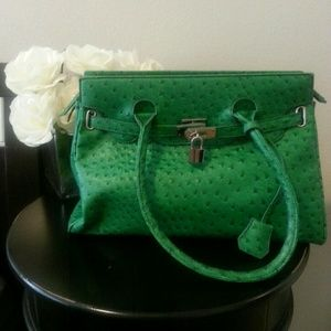 Shoe Dazzle Handbags - Green Handbag