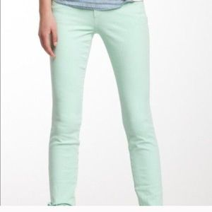 Shimmer green Joes jeans