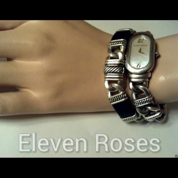 david yurman jewelry david yurman madison link black leather bracelet