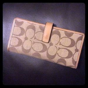 Slim Coach wallet