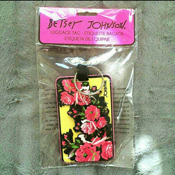 Betsey Johnson Accessories Last One Keychainluggage Tag