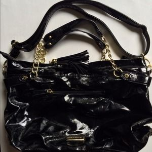 Steve Madden Black Satchel Large