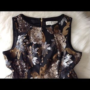 Urban Outfitters Tops - Urban Outfitters sequin peplum top