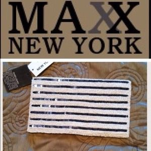 Max New York beaded evening bag