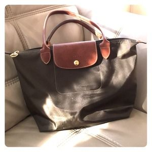 Longchamp 'Small Le Pliage tote' 100% Authentic