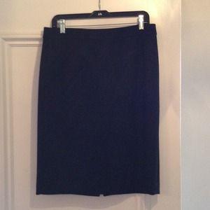 J.Crew Black Pencil Skirt