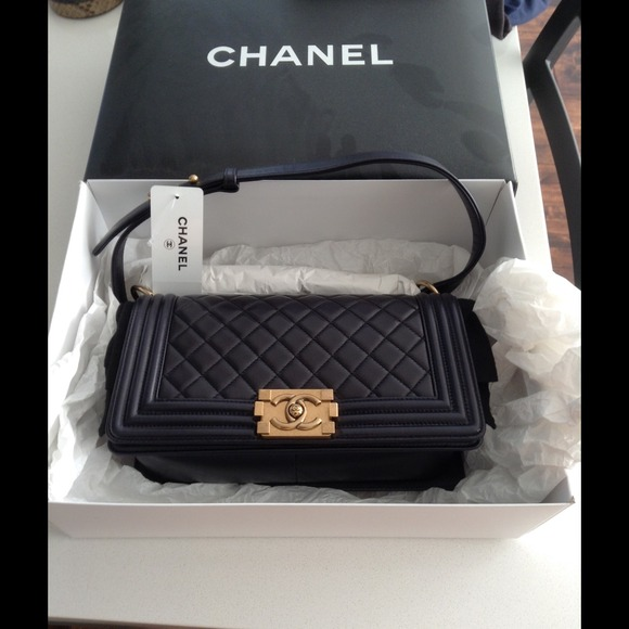 ba7809274c74 CHANEL Bags | Sold Authentic Boy Bag Old Medium Size | Poshmark