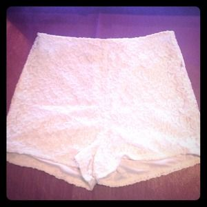 Zinga Other - Lace high waist shorts