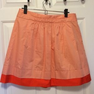 J. Crew mini skirt with pockets.