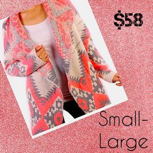 Outerwear - Pink cardigan