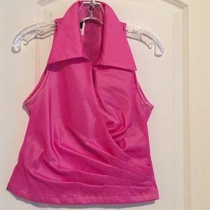 Tadashi Shoji Tops - Bright pink top