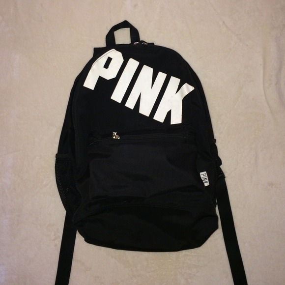 47% off PINK Victoria's Secret Other - Vs Pink black backpack from ...
