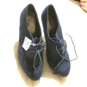 1534658bdf52 Fioni Shoes - Jetset Oxford Platform Pumps
