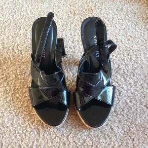 Women shoes/ hills, size 5, Nine West