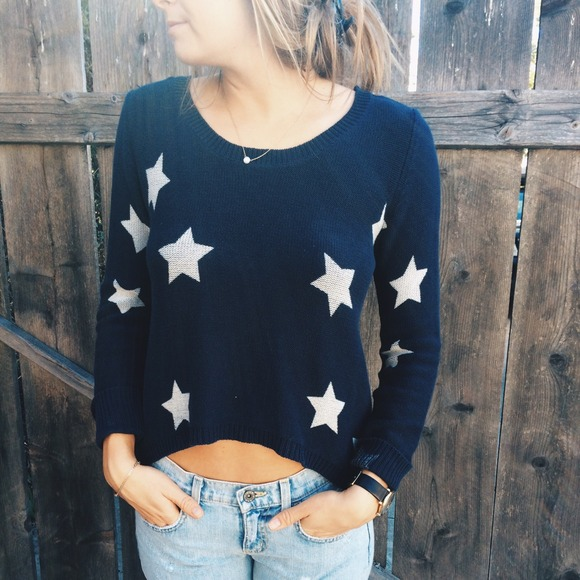 Billabong star spangled sweater