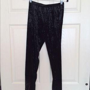 944324ad3bf1f Material Girl Pants   Velvet Leggings   Poshmark