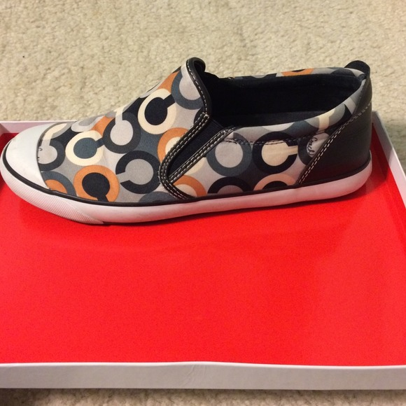 53 coach shoes coach slip on shoes from ashleigh s