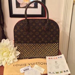Louis Vuitton Christian Louboutin Nwt