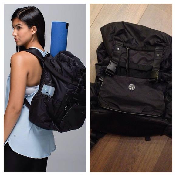 48fb028fc55 lululemon athletica Handbags - Lululemon  NWOT  Travelling Yogini Rucksack