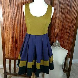 Ya Color Block Dress