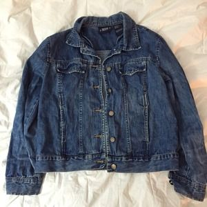 Vintage grunge denim jacket