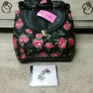 Sale! Betsey Johnson handbag/ backpack NWT
