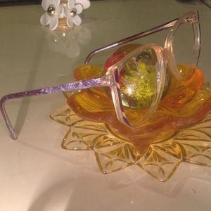 Vintage Illusion Eyeglass Frames